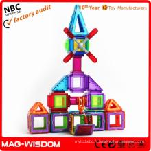 Puzzles de jouets magnétiques intelligents