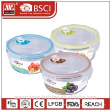 Microwavable frische Lebensmittel Glasbehälter