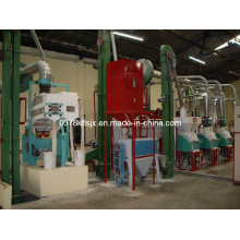8-10 Mt/24h Corn/Maize Flour Milling Machine