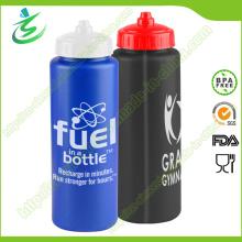900ml PE nueva botella plástica del deporte para viajar de la bici