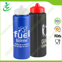 900ml PE Nouvelle bouteille de sport en plastique pour voyage en vélo
