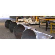 ASTM A420 curva de acero sin costura