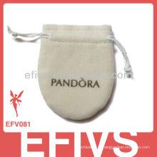 2013 Sacos e bolsas de veludo personalizados com cordão t Bolsa