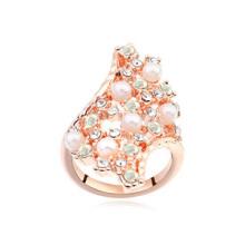 Bagues en cristal à anneaux en cristal autrichien les plus vendus