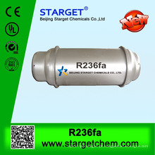 Gás refrigerante R236FA em cilindro recarregável de aço