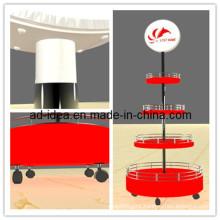 Light Box Display Stand & Adjustable Lightbox Display Rack & Rack Display with Lightbox