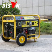 BISON China Taizhou Three Phase 5 KW Motors Gasoline Generator with Battery