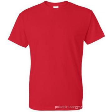 Hot Fashion Bulk Order Men′s 100% Cotton Blank T Shirt