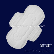 Échantillons gratuits super absorbants coton serviettes hygiéniques société