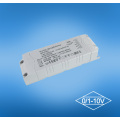 25w 0-10V Dimmable controlador de LED para Downlights