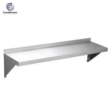 Metall Diaplay Edelstahl Wandbehang Regal
