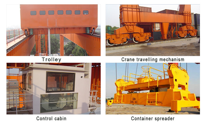 Container Gantry Crane Components