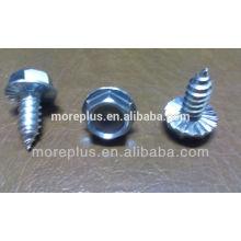 Fabriqué en Taiwan Vis en sertissage en acier inoxydable Vis à taraudage spécial Vis à tête de rondelle