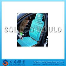 Plastic baby car seat cushion mold