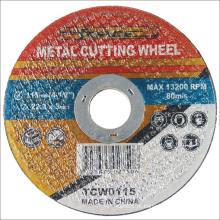 Acessórios de poder Super fino disco cortante de Metal abrasivos de aço inoxidável