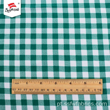 Fabricantes de Popular Spandex Plaid Rayon Fabric