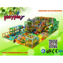 Großes Indoor-Struktur-Spielplatz-Center für Kinder