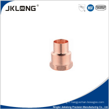 Adaptateur femelle en cuivre forgé J9022 Adaptateur en cuivre de 1 pouce