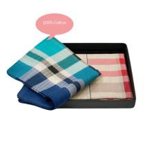 Fashion Cotton/Silk Men′s Pocket Towel Paisley Handkerchief Customized