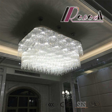Modern Fashion White Hotel Decorative Project Crystal Chandelier