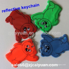 reflective keychain for promotional gift