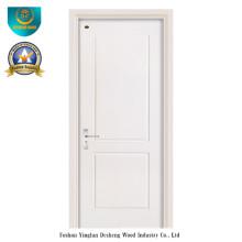 Porta Moderna Estilo HDF com Cor Branca para Interior (ds-104)