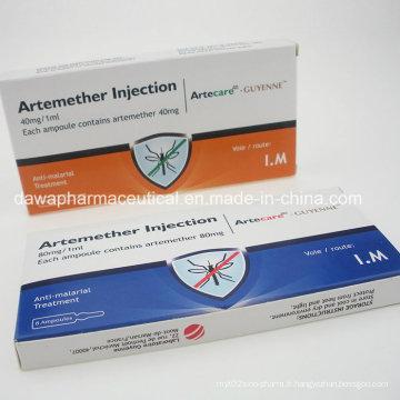 Artemisinine antipaludique curative approuvée par la FDA