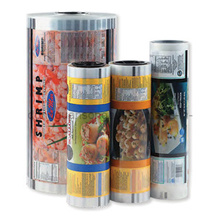 Alimentos instantâneos Embalagem de plástico Roll Film / Laminated Packaging Roll Film
