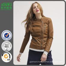 2016 Simple Women Popular Leather Jacket Lahore