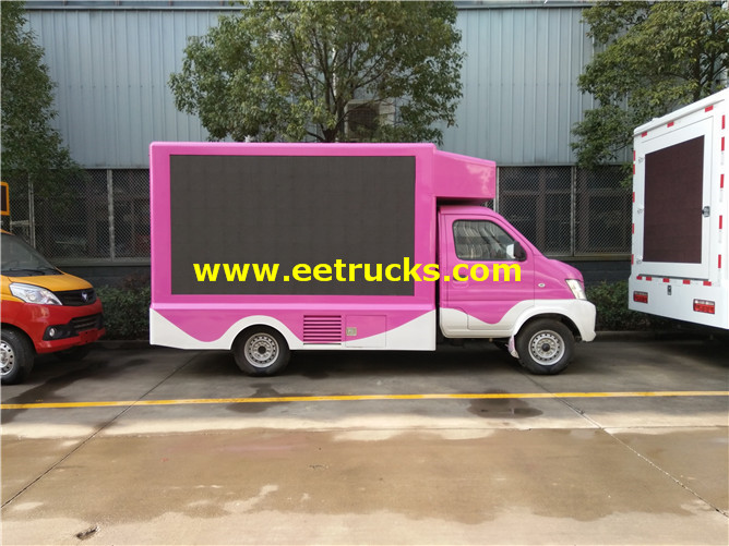 LED Mobile Advertising Vehicles
