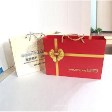 Saco de presente de papel para embalagem impressa personalizada