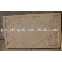 Pedra calcária bege Pavimentação
