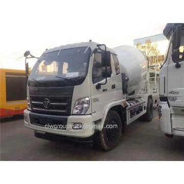 Euro 4 Foton 8 CBM mixer truck