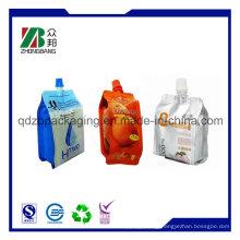 Plastic Aluminum Spouted Wine, Liquid Valve Bag in Box
