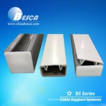 Unistrut channel PVC closure strip