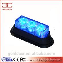 Golddeer Blue Mini Flashing Signal Light Led Grill Light