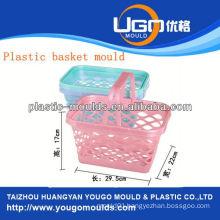 shopping plastic basket mould injection basket mould in taizhou zhejiang china