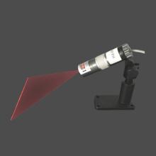 Fonte de laser de linha uniforme