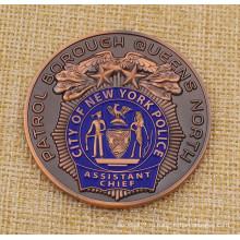 Обычная монета Nyfd, монета для вызова Nypd, монета полиции