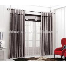 2015 a cortina a mais atrasada projeta a tela de seda crua para cortinas