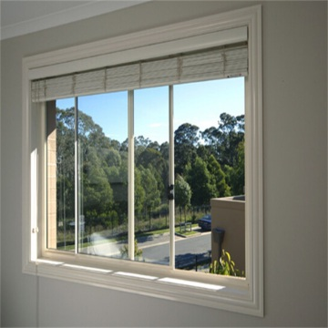 6mm Double Tempered Glass Aluminum Window