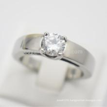 Stainless Steel Designer Diamond Finger Rings For Girls