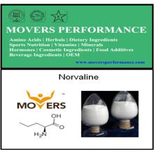 Norvaline d'acides aminés de haute qualité avec le numéro de CAS: 6600-40-4
