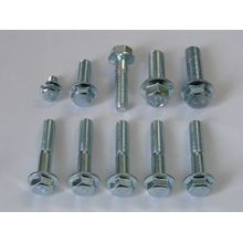 Stainless full thread Hexagon flange bolts