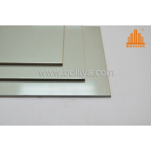 Silver Brush Hairline Brushed Exterior Aluminum Composite Panel