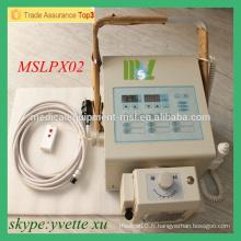 MSLPX02-M Meilleur prix Appareil de radiographie numérique portatif Appareil de rayons X à haute fréquence