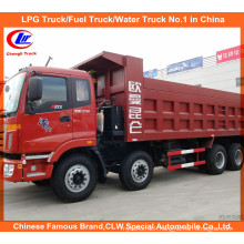 18-25tons Foton 6*4 Auman Used Dump Trucks 380HP for Sand and Stone