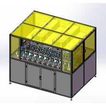 Huit couleurs tampographie Printing Machine avec convoyeur