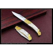 Golden Acrylic Handle Art Knives (SE-131)