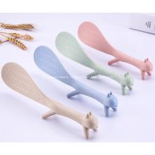 Standing Spoon Non-stick Plastic Rice Spoon